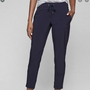 Athleta Midtown Slim Ankle Pants 12